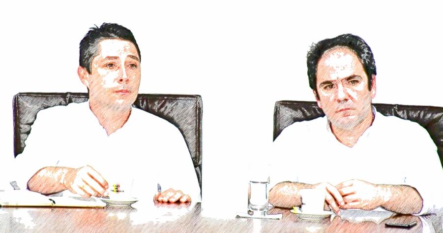 Alejandro Corrales y Gabriel Vallejo